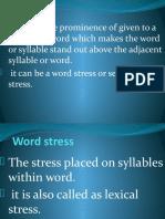 STRESS Lesson