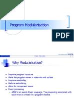 Program Modularisation.ppt