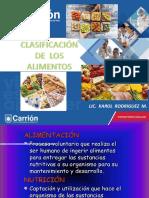 Clase 4 - Clasificacion de Los Alimentos