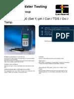 Datasheet 724200 - SensoDirect 150 (Set 1) PH Con TDS Oxi Temp. En
