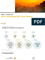 OpenSAP Cp1-3 Week 1 Unit 2 ISCP Presentation