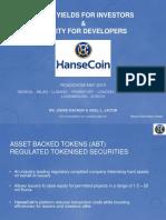 HanseCoin Presentation