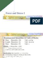 1 Force Stress I