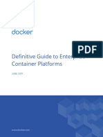 Whitepaper Definitive Guide to Enterprise Container Platforms