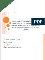Evaluasi Akreditasi Puskesmas Gekbrong-1.ppt