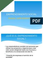 emprendimeinto social