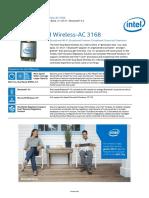 Dual Band Wireless Ac 3168 Brief