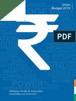 Budget Analysis 2019_MDA