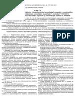 Ordin MDRAP nr. 6025-2018 (modif. P118-3 din 2015