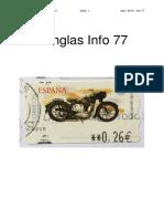 Sanglas Info 77 2019