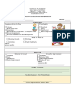 Anecdotal Record Assestment Form