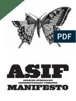 ASIF Manifesto