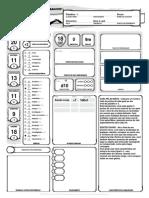 D&D 5E - Ficha de Personagem Automática - Biblioteca Élfica (1)