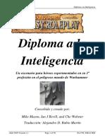 Diploma a La Inteligencia