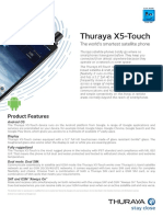 Thuraya X5-Touch Factsheet