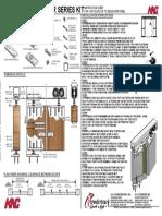 C-510 Pivot Kit Instruction Sheet