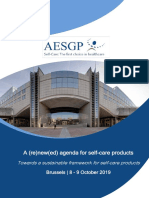AESGP Conference | October 2019 - Programme