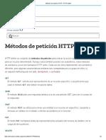 Métodos de Petición HTTP - HTTP _ MDN