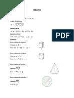 Formulas Cuarto
