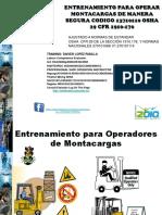 373727444 Certificacion de Montacarguistas OSHA