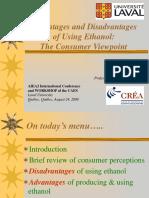 Ethanol Advantages and Disadvantages
