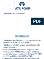 Tata Power (Group 4)