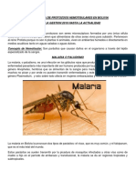 Prevalencia de Protozoos en Bolivia
