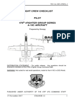 DCS a-10C Warthog Checklist