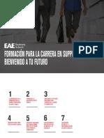 EOP- Formación Para La Carrera en Supply Chain, Bienvenido a Tu Futuro