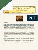 Boletín Jurisprudencial n.º 7 de 2019 - Sala de Casación Laboral