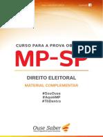 Material Complementar 1 - Direito Eleitoral