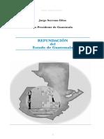 Refundacion Del Estado Jorge Serrano Elías