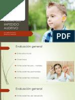 Evaluación en niños sordos