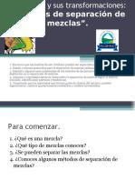 Separacion de Mezclas 7 Año 2019