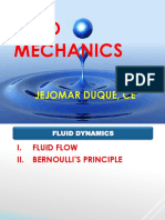 Fluid Flow & Bernoulli