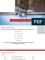 10ano F 1 7 Variacao Da Energia Mecanica
