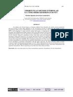 Analisis Perhitungan Metode Interpolasi