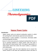 Vapour Power Cycle 1