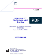 RQ-BCR-ABL p210 One-Step Manual e20170119