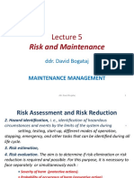 Risk and Maintenance