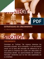 Clase III Estrategias de Crecimiento