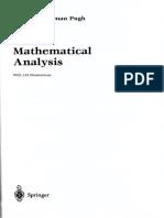 Livro Análise Matemática - Pugh