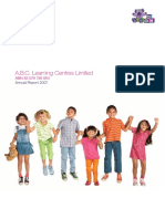 ABC Learning Annual Report 2007