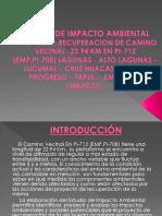 EVALUACION DE IMPACTO AMBIENTAL EN OBRAS CIVILES