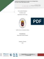 Análisis de caso desde la formulación clínica de Leonidas Castro