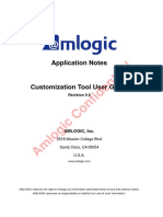 Amlogic Customization Tool User Guide V0.5