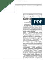 Decreto Supremo N° 028-2019-MTC