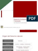 Resumen Derecho Laboral 2012
