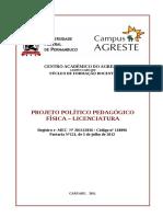Projeto Político-Pedagógico Física CAA