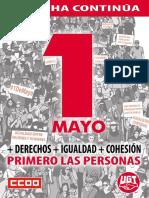 CCOO - 1 de Mayo 2019